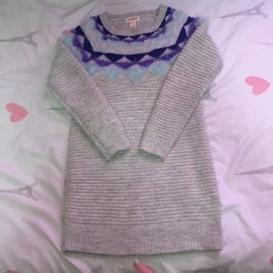 Cat & Jack girls sweater dress